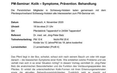 PM-Seminar: Kolik
