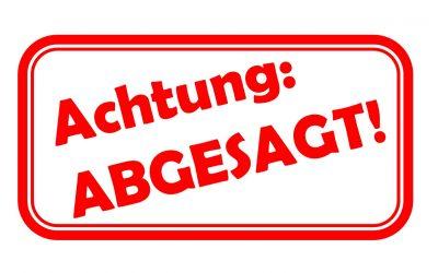 +++ Kolik-Vortrag ABGESAGT +++